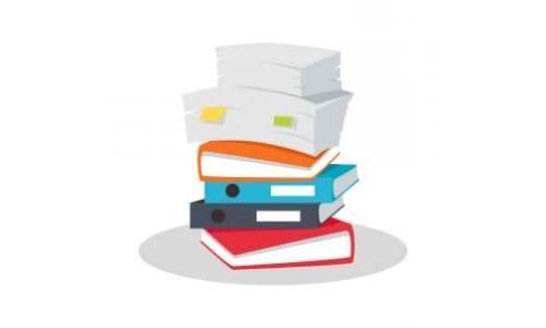 books flat design