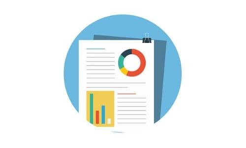 document flat design