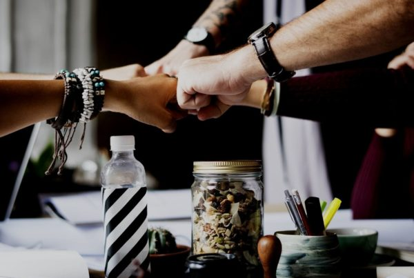 The Importance of Cultivating an Ethical Culture team work hands in