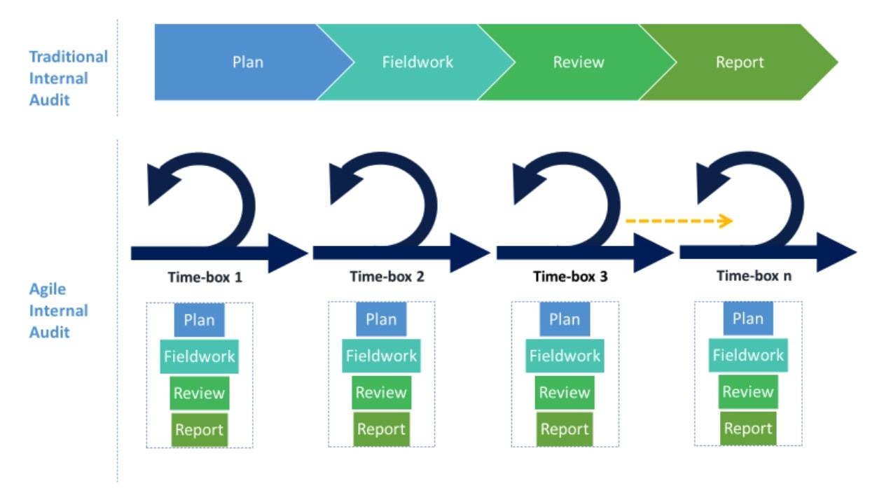 agile audit graphic